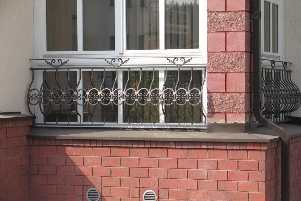 Кованые перила,ограждения для лестниц и балконов в смоленске.