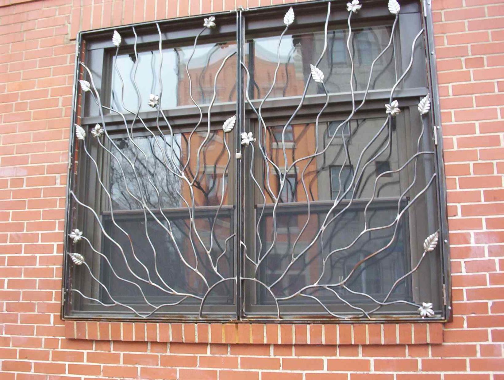 фото каталог на решетки окна
